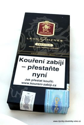 Doutníky Leon Jimenes Assortment Box Prestige Tubos 3ks